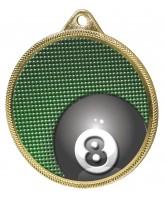 Pool Colour Texture 3D Print Gold Medal