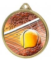 Tennis Colour Texture 3D Print Gold Medal