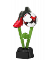 Oxford Football Red and Black Boot Trophy
