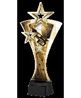 Classic Triple Star Pistol Shooting Trophy