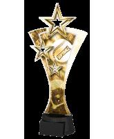 Classic Triple Star Softball Trophy