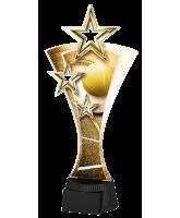 Classic Triple Star Tennis Trophy