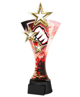 Triple Star Martial Arts Fist Trophy