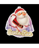Father Christmas Santa Run Medal