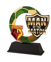 Football Custom Man of the Match Trophy