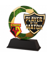 Football Custom Player of the Match Trophy