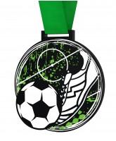 Big Football Ball & Boot Medal