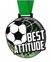 Big Football Best Attitude Medal