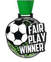 Big Football Fair Play Winners Medal