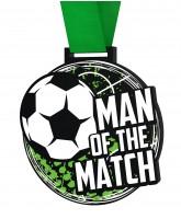 Big Football Man of the Match Medal