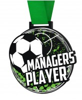 Big Football Managers Player Medal