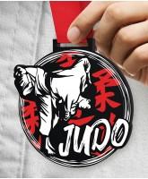 Judo Massive Monster Black Medal