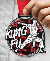 Kung Fu Massive Monster Black Medal