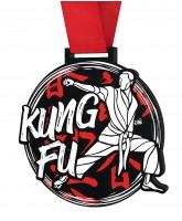 Kung Fu Monster Black Medal
