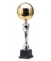Rezende Silver and Gold Volleyball Trophy