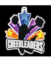 Cheerleaders Shooting Star Medal