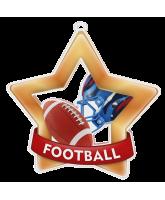 American Football Mini Star Bronze Medal
