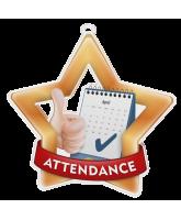 Attendance Mini Star Bronze Medal