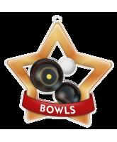 Bowls Mini Star Bronze Medal
