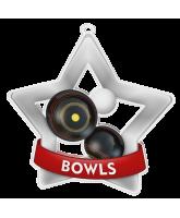 Bowls Mini Star Silver Medal