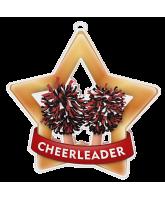 Cheerleader Mini Star Bronze Medal