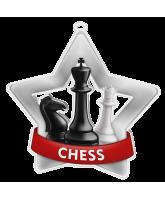 Chess Mini Star Silver Medal