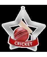 Cricket Mini Star Silver Medal