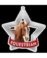 Equestrian Mini Star Silver Medal