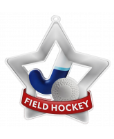 Hockey Mini Star Silver Medal