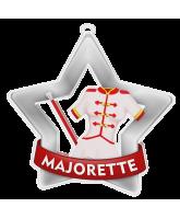 Majorette Mini Star Silver Medal