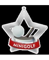 Mini Golf Mini Star Silver Medal