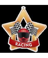 Motor Racing Mini Star Bronze Medal
