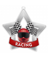 Motor Racing Mini Star Silver Medal