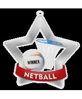 Netball Mini Star Silver Medal