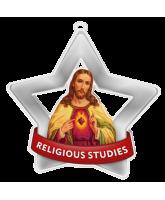 Religious Studies Church Mini Star Silver Medal