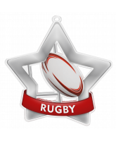 Rugby Mini Star Silver Medal