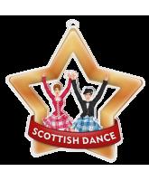 Scottish Dance Mini Bronze Star Medal