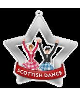 Scottish Dance Mini Silver Star Medal
