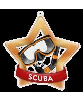 Scuba Diving Mini Star Bronze Medal