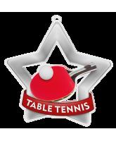 Table Tennis Mini Star Silver Medal