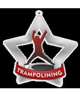 Trampolining Mini Star Silver Medal