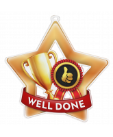 Well Done Mini Star Bronze Medal