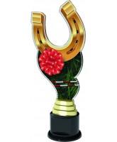 Monaco Horseshoe Rosette Trophy