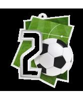 Poznan Football Number 2 Medal