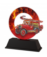 Rio Fire Fighting Fire Engine Trophy