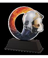 Rio Fire Fighting Helmet Trophy