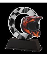 Rio Motorbike Helmet Trophy