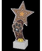 Vienna Dog Show Brown Paw Star Trophy