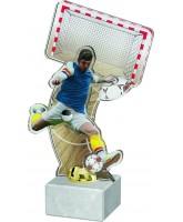Vienna Futsal Player Blue Kit Trophy