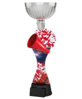 Montreal Cheerleading Silver Cup Trophy